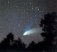 cometa-hale-bopp-1997 I corpi minori del sistema solare: satelliti, asteroidi, comete, meteoriti, pianeti nani