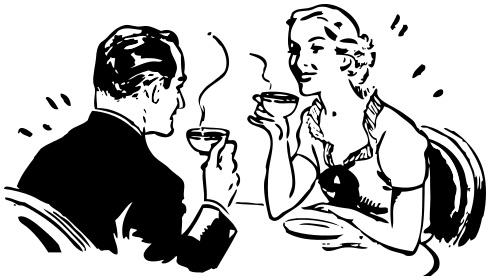 coppia-che-gusta-caffè Quando inizia un amore