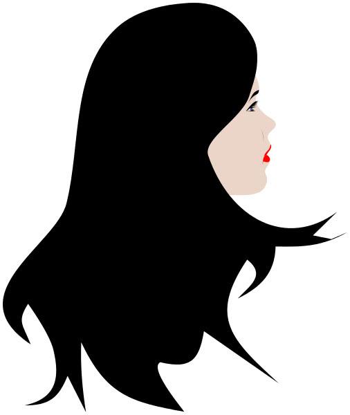 disegno-bel-viso-femminile Lo specchio di una bella decaduta