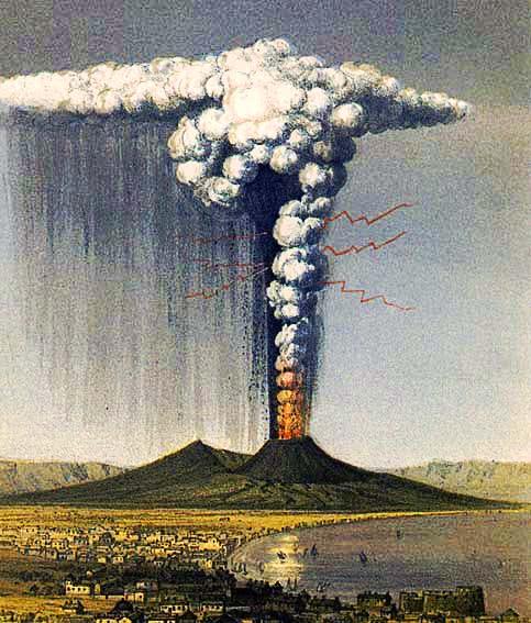 eruzione-vesuvio-1822 I fenomeni vulcanici