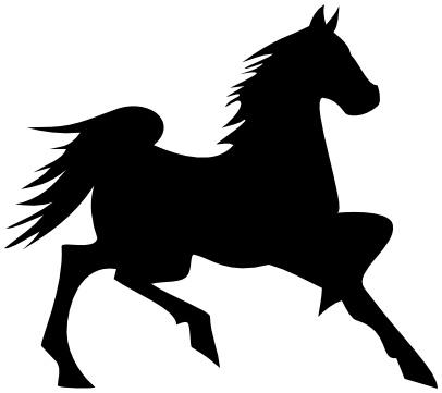 silhouette-cavallo-corsa Intorno alla crisi